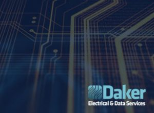 Daker fibre and data installation