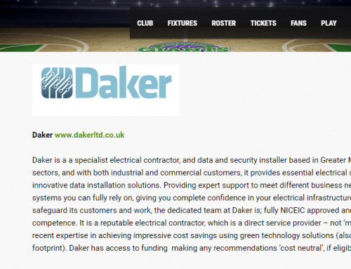Daker goes GIANT: corporate social responsibility